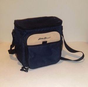 Eddie Bauer lunch box, cooler bag. Black.